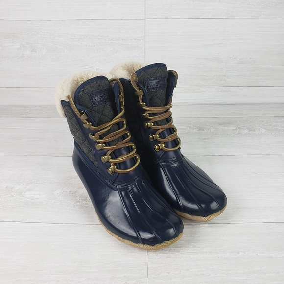 77a847450fdfa Sperry Top Sider J.Crew Shearwater Boots. M 5b315b9c12cd4a998965edaf